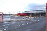 Entrance to Royal Mail yard