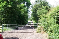 Cutnall Green halt entrance