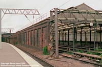 Old carriage sheds, 1986