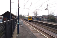 Erdington station view