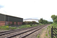 Forge Mills station sidings