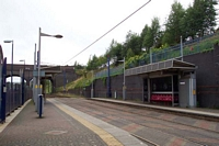 The Hawthorns station Midland Metro stop
