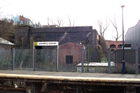 Jewellery Quarter station Kidderminster platform