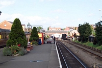 Kidderminster station on the Severn Valley Railway