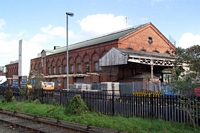Old goods shed at Kidderminster station