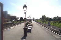 Kidderminster station looking towards Bewdley