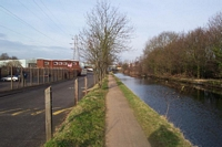 Lifford wharf trackbed towards City