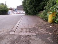 Disused goods yard weighbridge