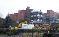 Diggers poised for demolition at M&B Brewery Cape Hill