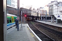 New Street station view from platform 12b