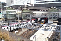 New Street station view from Hill Street