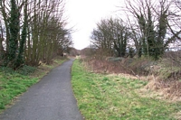 Pelsall station site to Brownhills