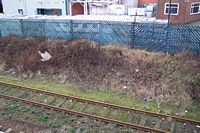 Rood End station Smethwick Junction platform site