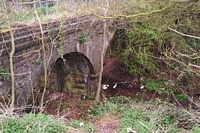 Old Halesowen Railway bridge near Rubery station site