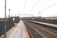 Length of the Sandwell & Dudley station from Birmingham platform