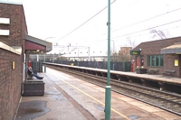 Sandwell & Dudley station looking towards Birmingham