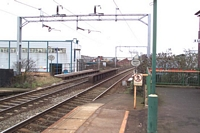 Sandwell & Dudley station looking towards Wolverhampton