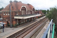 Shenstone station from Lynn Lane bridge