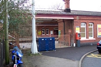 Shirley station old station entrance