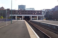 Snow Hill station viewed from platform 3