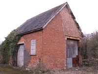 Studley & Astwood Bank station goods shed