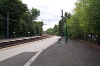 Sutton Coldfield station looking towards Wylde Green