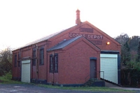 Tettenhall station goods shed