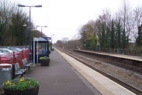Warwick station looking towards Warwick Parkway