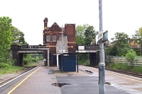 Water Orton station building and platforms