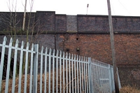 Winson Green station missing stairwell from bridge