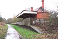 Wombourne station building