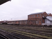 Worcester Shrub Hill station goods shed