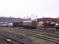 Worcester Shrub Hill station goods yard