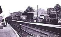 Erdington Station, early 1900s