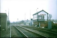 Rushall station crossing