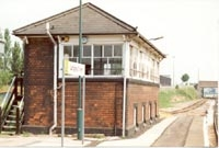 Langley Green station signal box