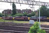 37s in sidings, Bescot