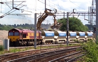 Unidentified 66 loading aggregate, Bescot