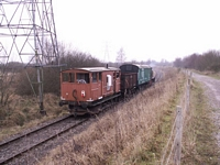 DL7 at Chasewater Railway